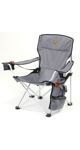 Silla plegable Grand Canyon VIP gris